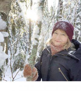 Maarit Soini Metsän aika -kalenterin taitto