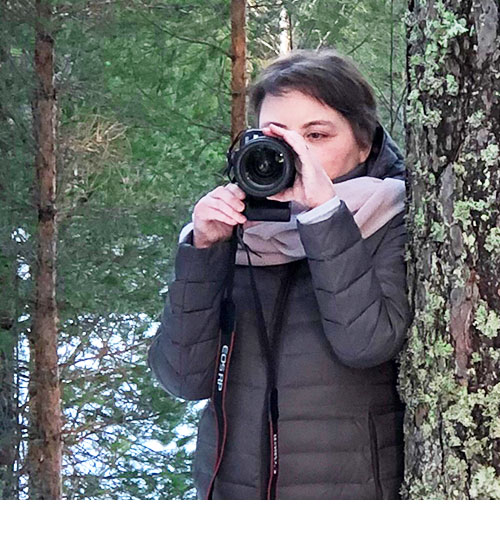 Petriina Puotiniemi - Metsän aika -kalenterin 2022 valokuvat