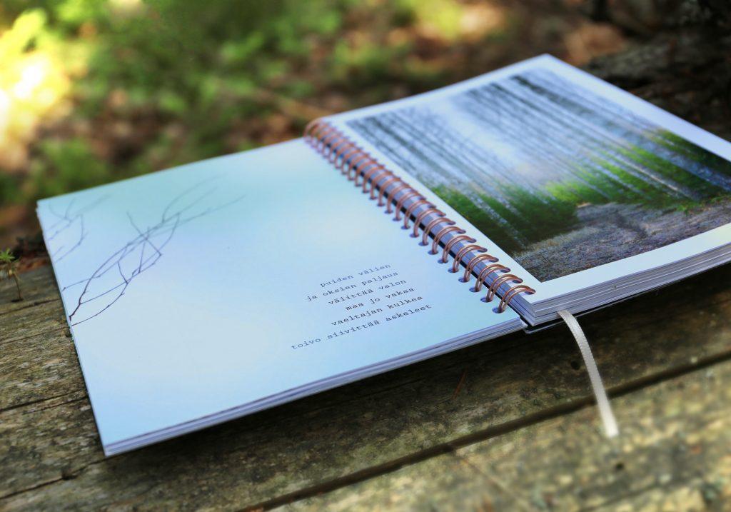 Metsän aika taidekalenteri ja luontokalenteri